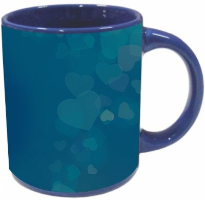 Printland Royal Blue Valentine Day PMBu5079 Ceramic Mug