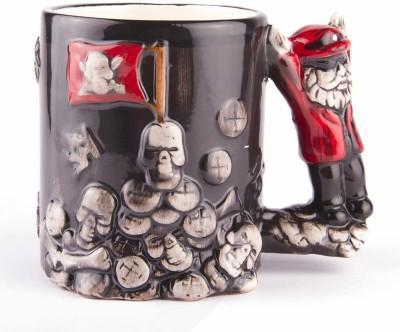 Emerge Pirate  Porcelain Mug