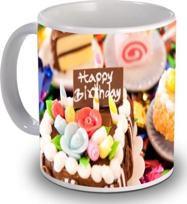 Print Helllo Happy Birthday R193 Ceramic Mug