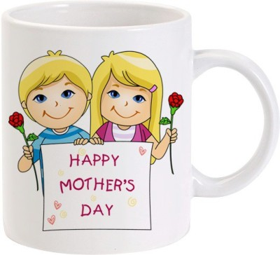 Lolprint Happy Mothers Day Kids Ceramic Mug