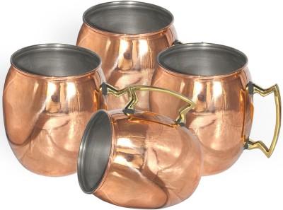 AsiaCraft MOSCOWMUG-002-4 Copper Mug