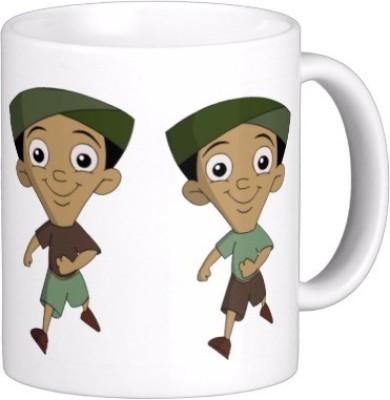 Exoctic Silver Chhota Bheem Series Kjl005 Ceramic Mug
