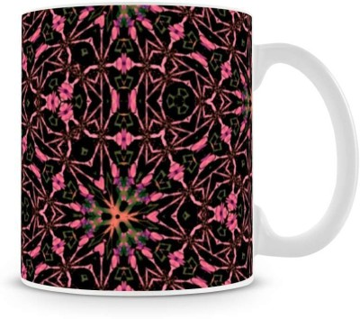 Saledart Mg432-Beautiful And Awesome Flower Background Ceramic Mug