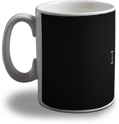 Artifa I Love House Music Porcelain, Ceramic Mug