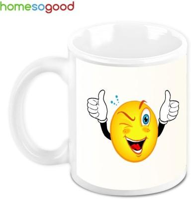 HomeSoGood Wow! That Was Great Ceramic Mug