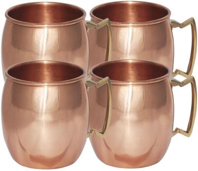 AsiaCraft MOSCOWMUG009-4 Copper Mug