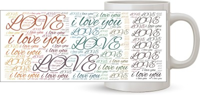 Capturing Happiness Love Color Ceramic Mug