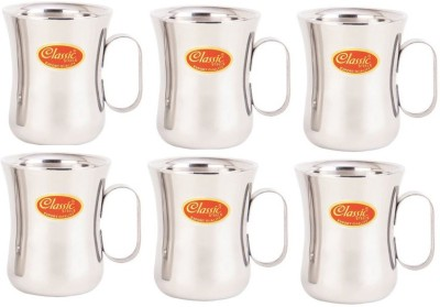 Classic Steels DOUBLE WALL MUG - DAMRU Stainless Steel Mug