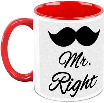 HomeSoGood My Husband Is Mr Right Ceramic Mug