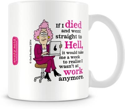 Tashanstreet Aunty Acid Workoholic Ceramic Mug