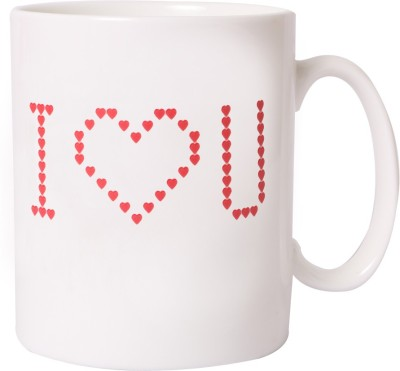 Emerge I Love You Colour Changing  Ceramic Mug