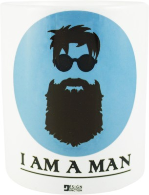 TheDesignJunction I AM A MAN Ceramic Mug