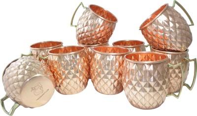 Dakshcraft Asian Copper Kitchenware Copper Mug