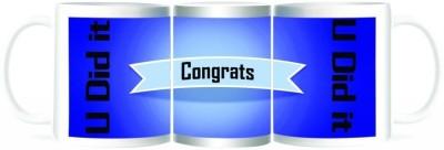 Refeel Gifts Congrats - You Did it Ceramic Mug