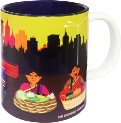 The Elephant Company Sabji Bazaar Ceramic Mug