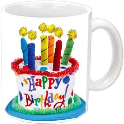 Jiya Creation1 Blasting Candles Ceramic Mug