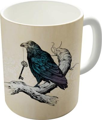 Dreambolic Ravens Key Ceramic Mug