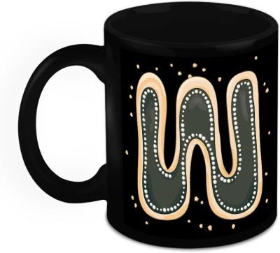 HomeSoGood One Of A Kind Alphabet W Ceramic Mug