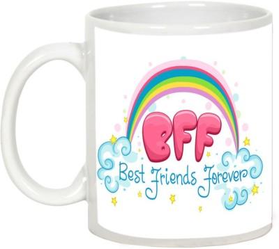 AllUPrints Gift For Friend - Bff Best Friends Forever Ceramic Mug