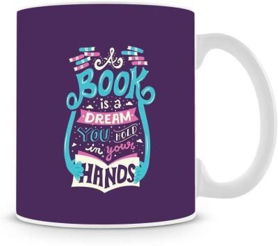 Saledart Mg638-Book Is Dream Of In Your Life Ceramic Mug