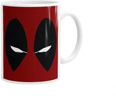 Hainaworld Deadpool Eye Coffee  Ceramic Mug
