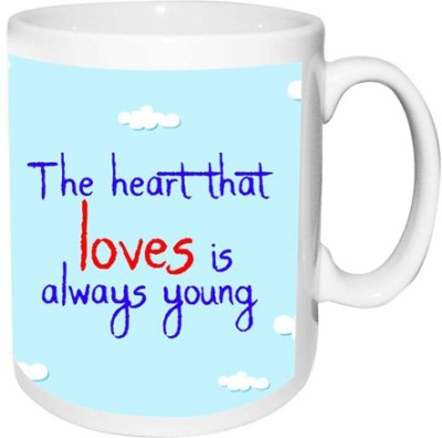 alwaysgift ( Love ) The Heart That Love Is Always Young  Ceramic Mug