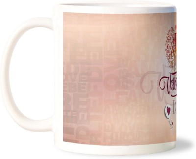 Lovely Collection Valentines Day Wishes Ceramic Mug