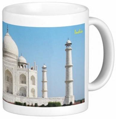 Lion Souvenirs Taj Mahal (Grandeur) Coffee / Tea  Ceramic Mug