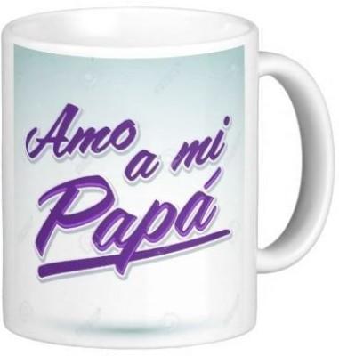 G&G Amo A Mi Papa Ceramic Mug