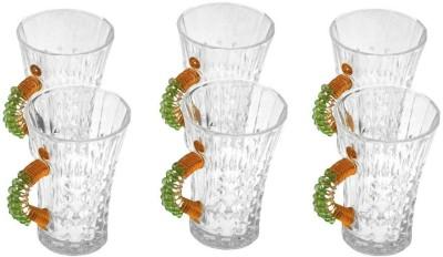 JewelKraft Designs Vl Green Glass Mug