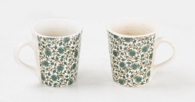 Ocean Collection Ocean Collection Ceramic Floral  Set Ceramic Mug