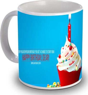 Print Helllo Happy Birthday R134 Ceramic Mug