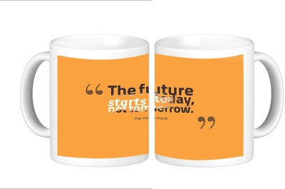 Shopmillions Future Start Today Ceramic Mug