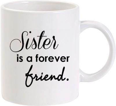 Lolprint Sister is a Forever Friend Ceramic Mug
