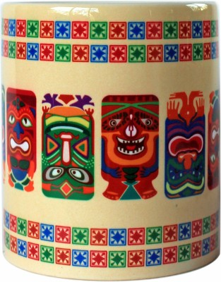RangRasia TribalTikiMasks XX CM Ceramic Mug