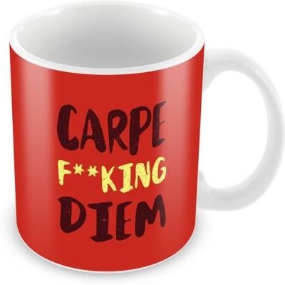The Souled Store. Carpe Diem  Ceramic Mug