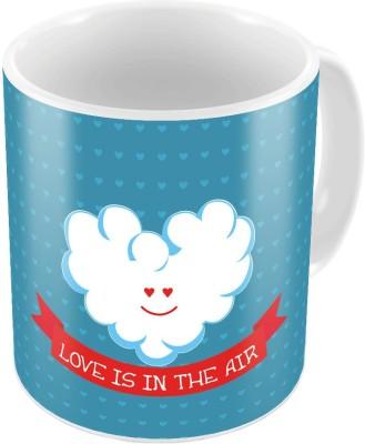 Indiangiftemporium Designer Romantic Printed Coffee  697 Ceramic Mug