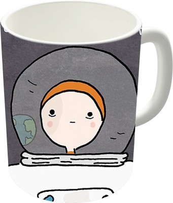 Dreambolic The Astronaut Ceramic Coffee Ceramic Mug