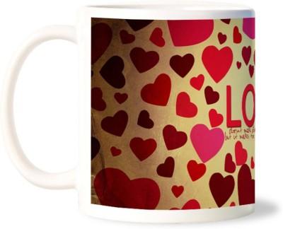 Lovely Collection Love Makes Life Better Ceramic Mug