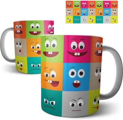 Chiraiyaa Smiley Ceramic Mug