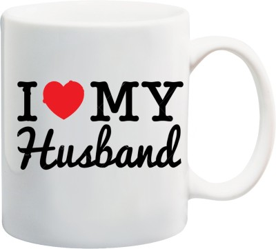 Awwsme I Love My Husband 2 Ceramic Mug