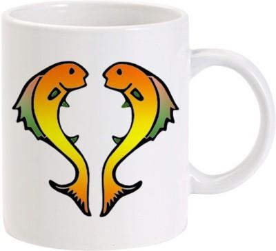 Lolprint 4 Pisces Zodiac Sign Ceramic Mug