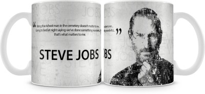 Posterboy Steve Jobs Quote Ceramic Mug