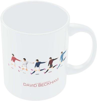 PosterGuy David Beckham 5 Clubs 1 Country Sports Legend Ceramic Mug