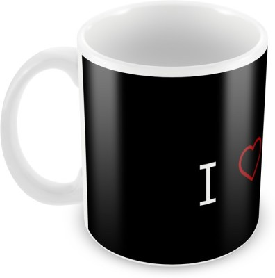 AKUP i-loves-music Ceramic Mug