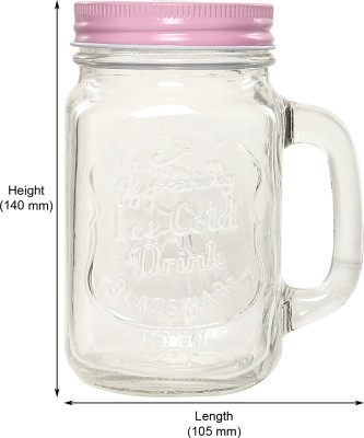 Serenus Homes Mason  Glass Mug