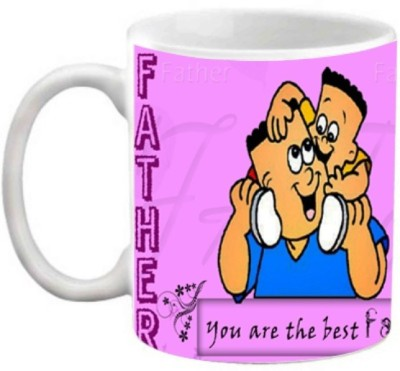 EFW The Best Father Personalized Coffee 325 ml Ceramic Mug