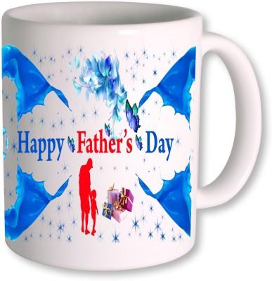 PhotogiftsIndia Happy Fathers Day 125 Ceramic Mug