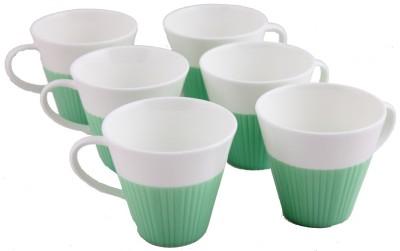 Hi Luxe Green Porcelain Mug