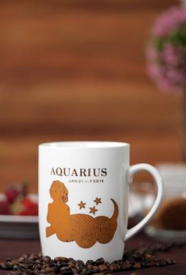 Stationery House 1414 Aquarius Bone China Mug